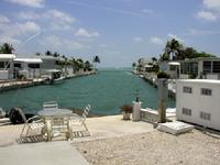 Typical Canal in Venture Out Park on Cudjoe Key in the Florida Keys