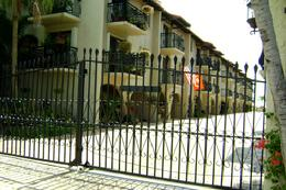 Gates of Casa Caselles in Key West, Florida on the Atlantic Ocean