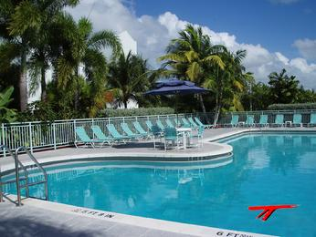 Pool at SaltPonds Condominium Key West, FL
