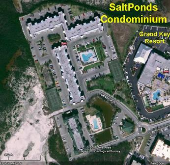 SaltPonds Condo from the Air